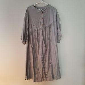 Zara oversized midi dress M